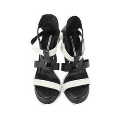 Corner Two Tone Sandals