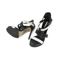 Camilia skovgaard pebbled leather sandals 2