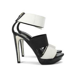Fendi two tone sandals 2