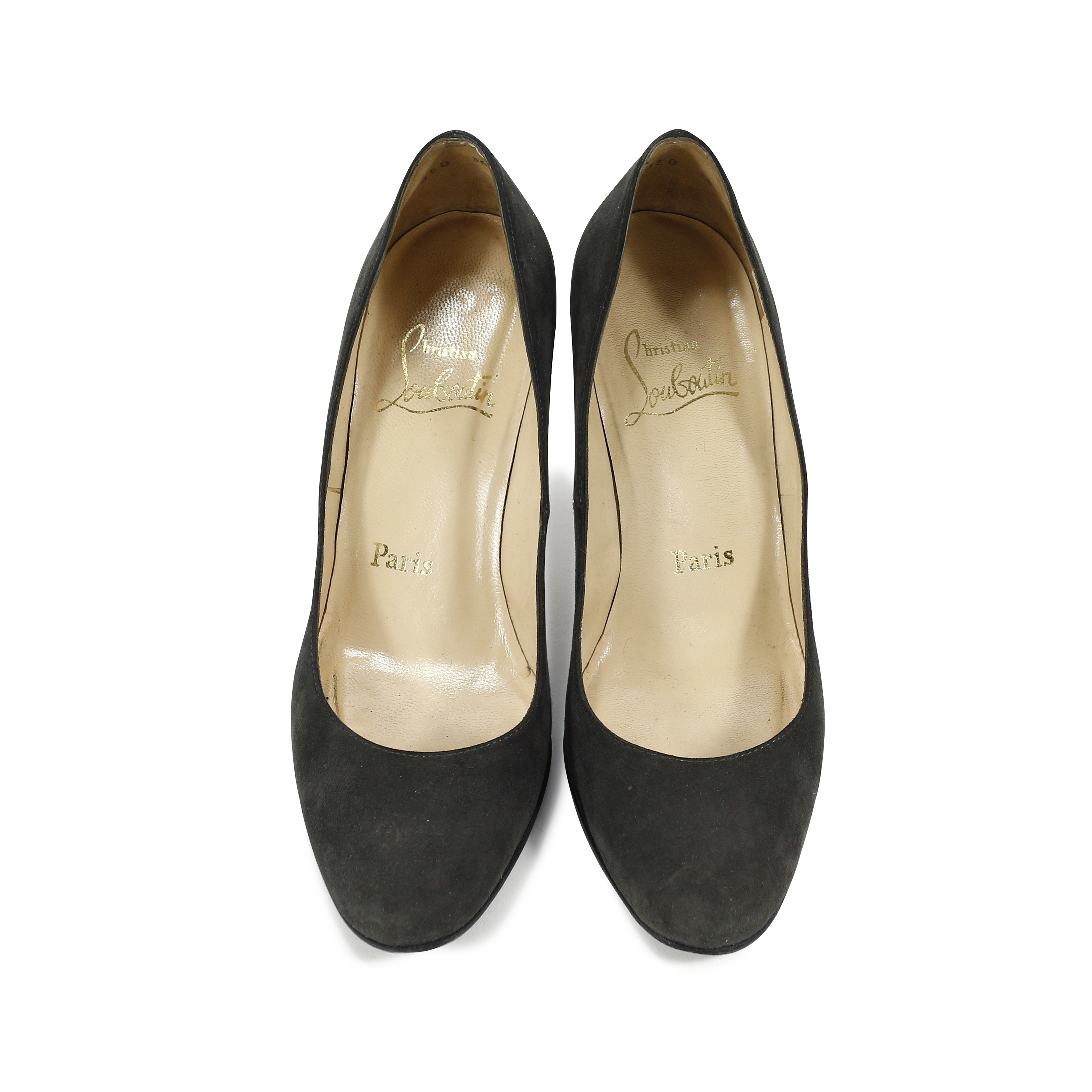 6e710c219bc Authentic Second Hand Christian Louboutin Suede Classic Pumps  (PSS-131-00016)