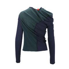 Y s yohji yamamoto asymmetrical sweater 2
