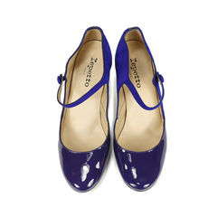 Repetto violet palace mary jane heels 1