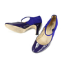 Authentic Second Hand Repetto Violet Palace Mary Jane Heels (PSS-156-00040) - Thumbnail 2
