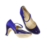 Authentic Second Hand Repetto Violet Palace Mary Jane Heels (PSS-156-00040) - Thumbnail 3
