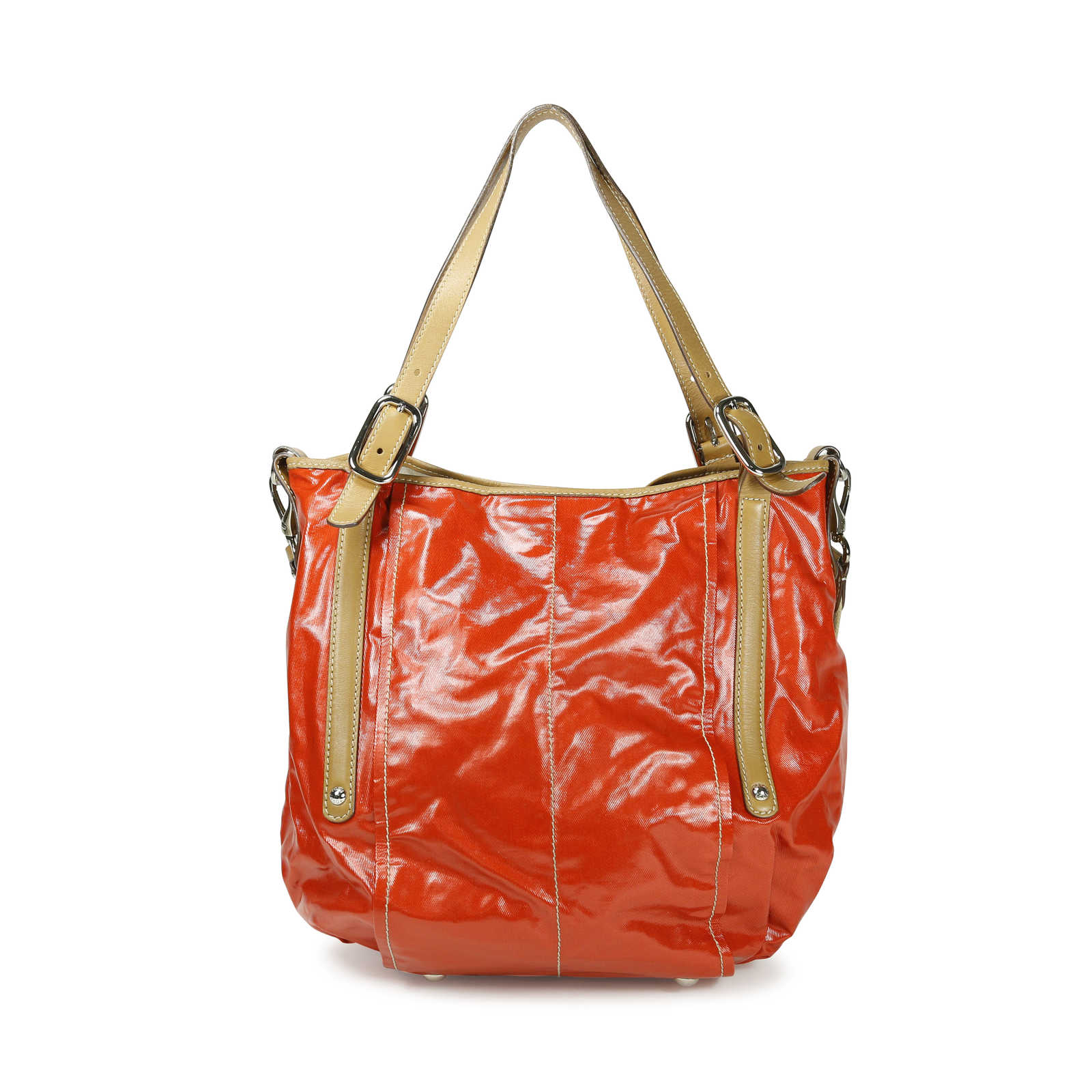 426e78c472 ... Authentic Second Hand Tod's G-Line Coated Twill Tote (PSS-156-00042 ...
