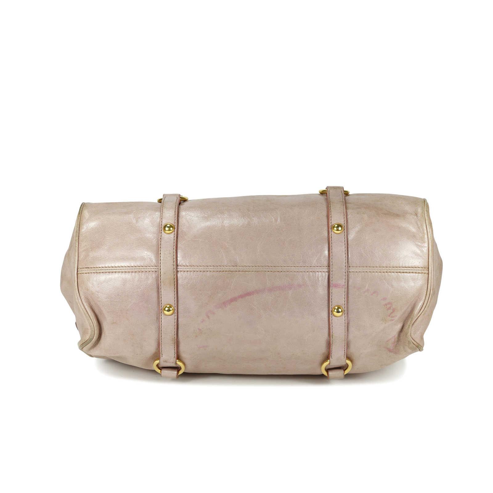 48945d9a4185 ... Authentic Second Hand Miu Miu Vitello Lux Bow Bag (PSS-150-00002) ...