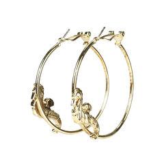 Versace hoop seahorse earrings 2