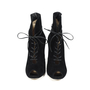 Authentic Second Hand Gianvito Rossi Lace Up Booties (PSS-143-00014) - Thumbnail 0