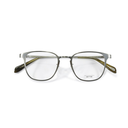 Authentic Second Hand Oliver Peoples Pewter Pressman Glasses  (PSS-155-00007)