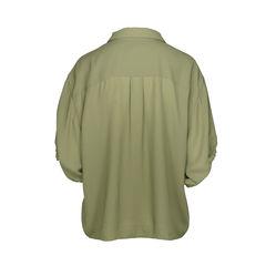 Acne faux tie loose button down shirt 2
