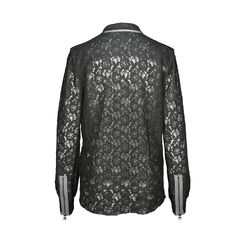 Zadig voltaire deluxe sheer lace button down 2