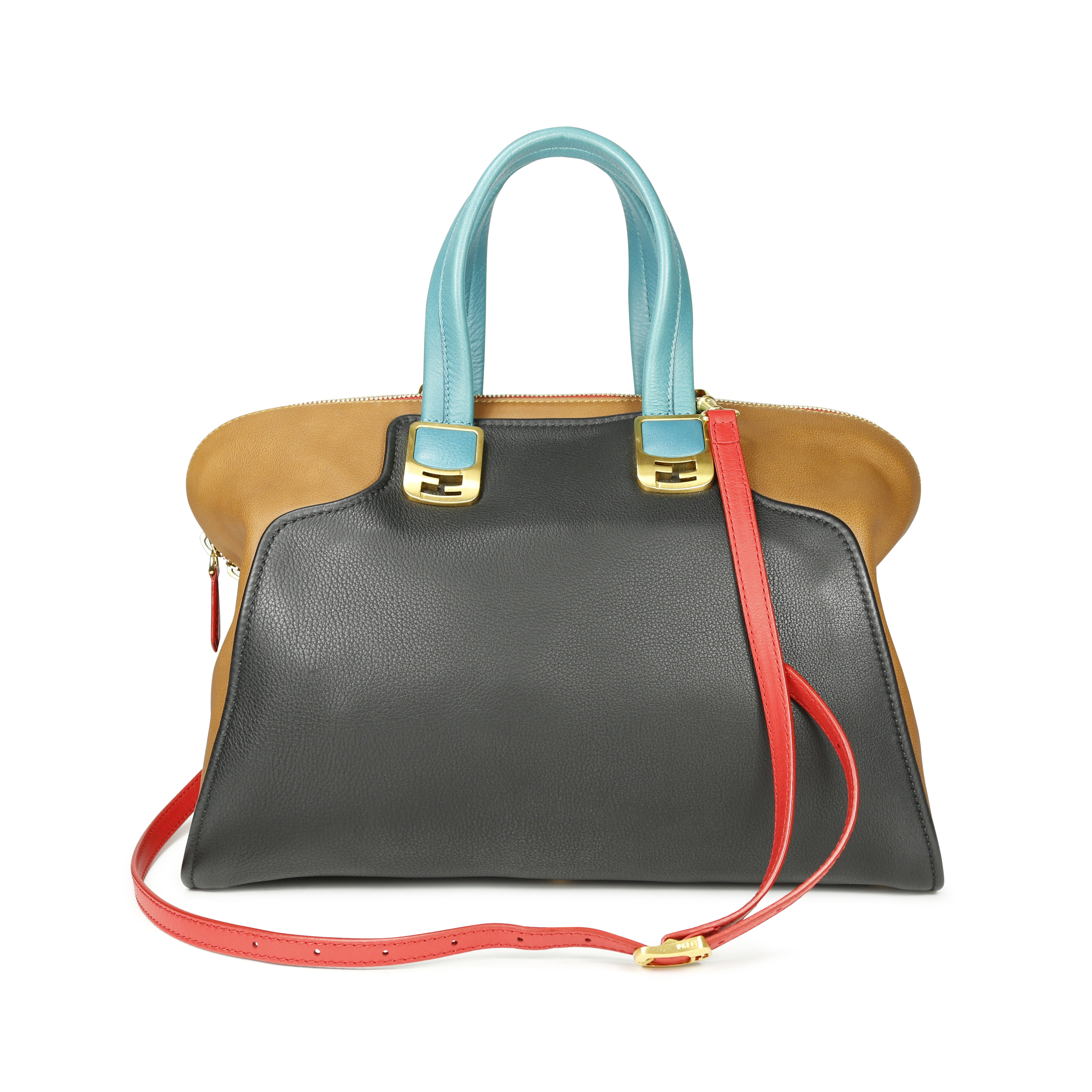 Authentic Pre Owned Fendi Large Chameleon Bag Pss 145 00067 The Fifth Collection