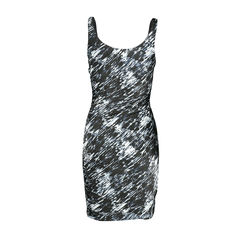 Theory abstract print spag dress 2