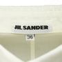 Authentic Second Hand Jil Sander Off White Double Collared Shirt (PSS-054-00097) - Thumbnail 2