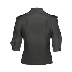 Paul smith black label 3 4 sleeve button blouse with bow details 2