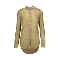 Long Sleeve Shirt with Embroidery