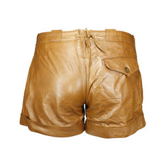 Ralph lauren leather shorts 2