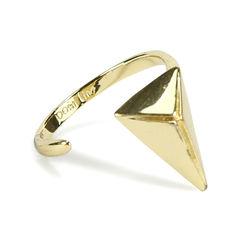 Joomi lim pyramid knuckle ring 2