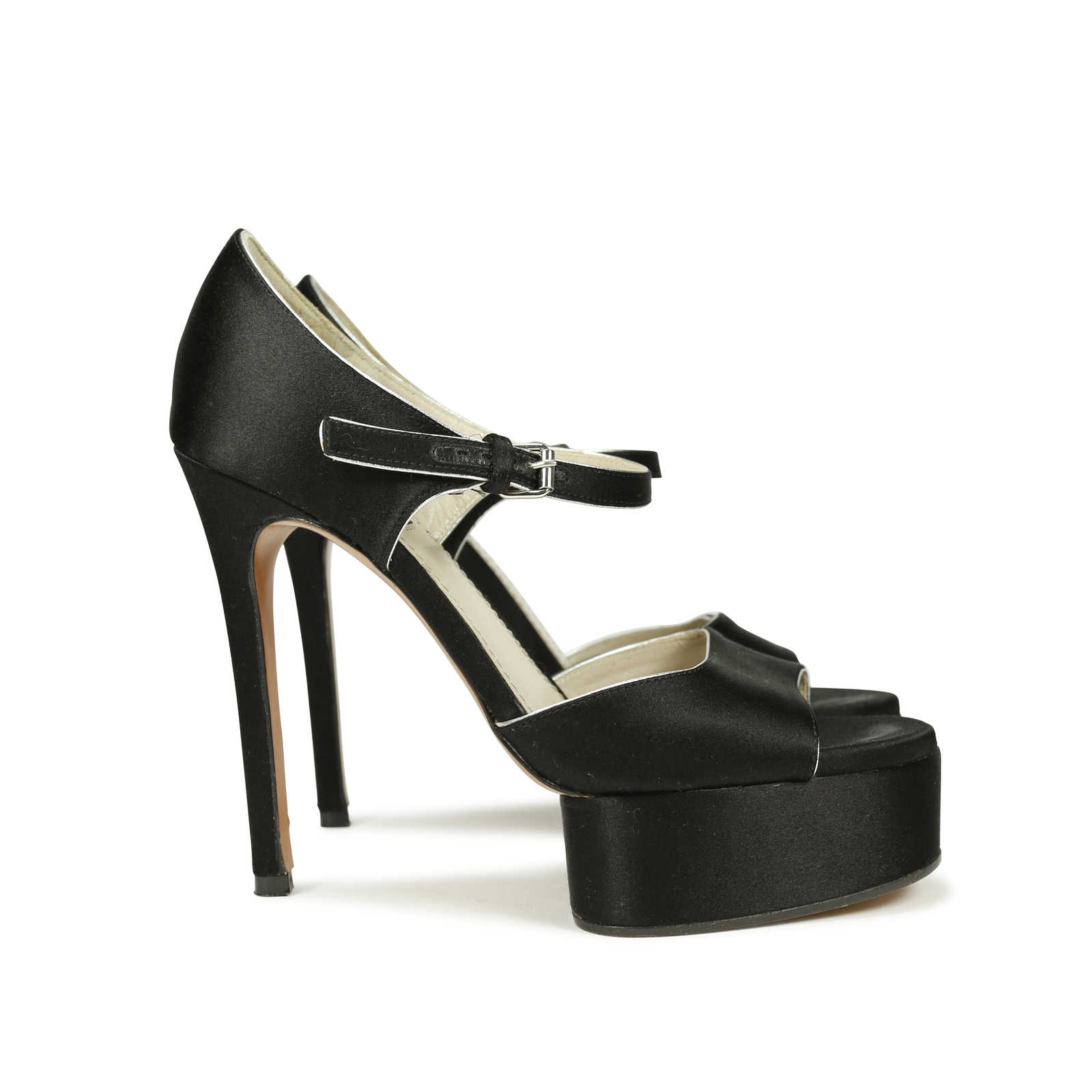 Second Hand Marc Jacobs Peep Toe Mary Jane Pumps