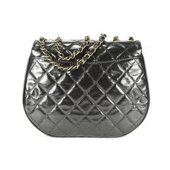 Chanel calfskin messenger bag 2