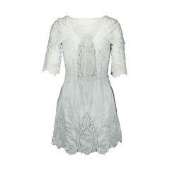 Saylor lace trim dress 2