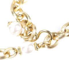 Bozart pearl and gilt metal belt pss 057 0011 2