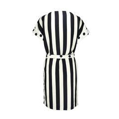 Ch carolina herrera striped and spotted dress 3