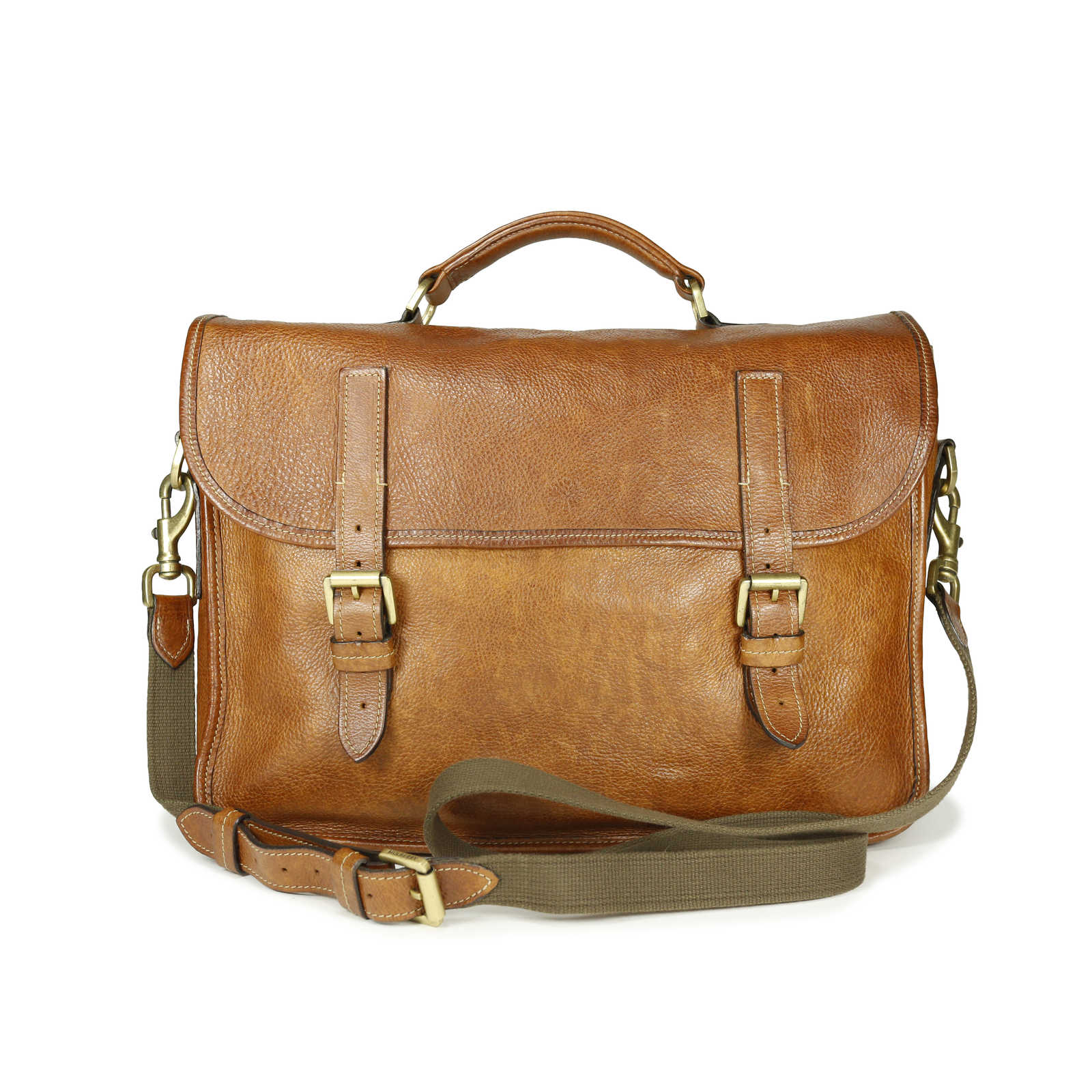 Authentic Pre Owned Mulberry Leather Elkington Briefcase Pss 169 00006 Thumbnail