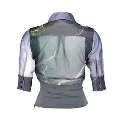 Lightning chiffon blouse 2