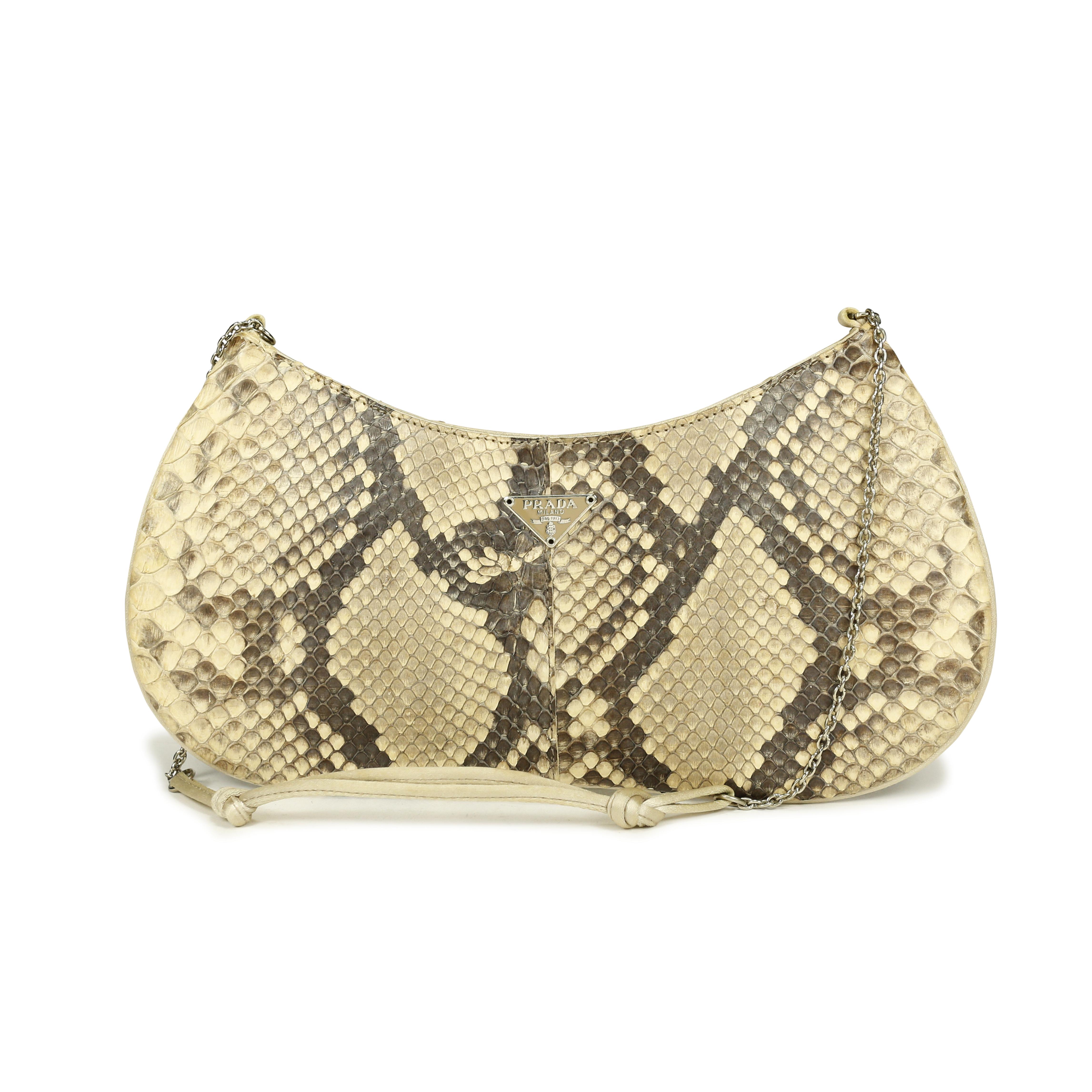 second hand prada snakeskin handbag the fifth collection. Black Bedroom Furniture Sets. Home Design Ideas