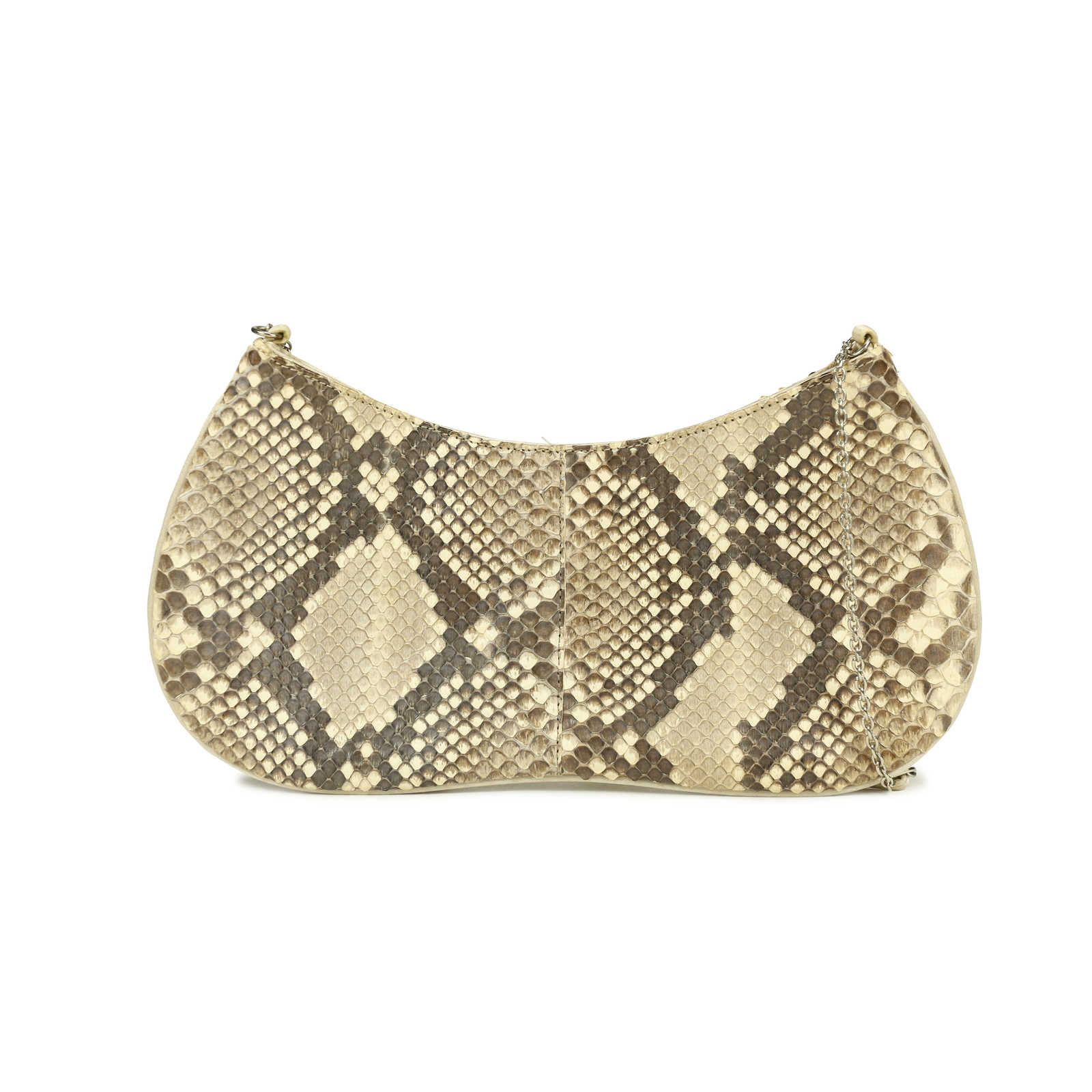 47197e75c467 ... Authentic Second Hand Prada Snakeskin Handbag (PSS-169-00009) -  Thumbnail 1 ...