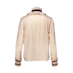 Diane von furstenburg frill collar blouse 2