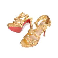 4c47d004fa Straratata 140 Platform Sandals Christian louboutin strappy detailed  sandals 2