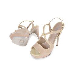 Yves saint laurent strappy platform sandals 2