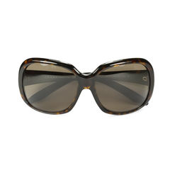 Prada tortoise shell square sunglasses 2