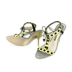 Sophia webster yaya polka dot and stripes heel 2