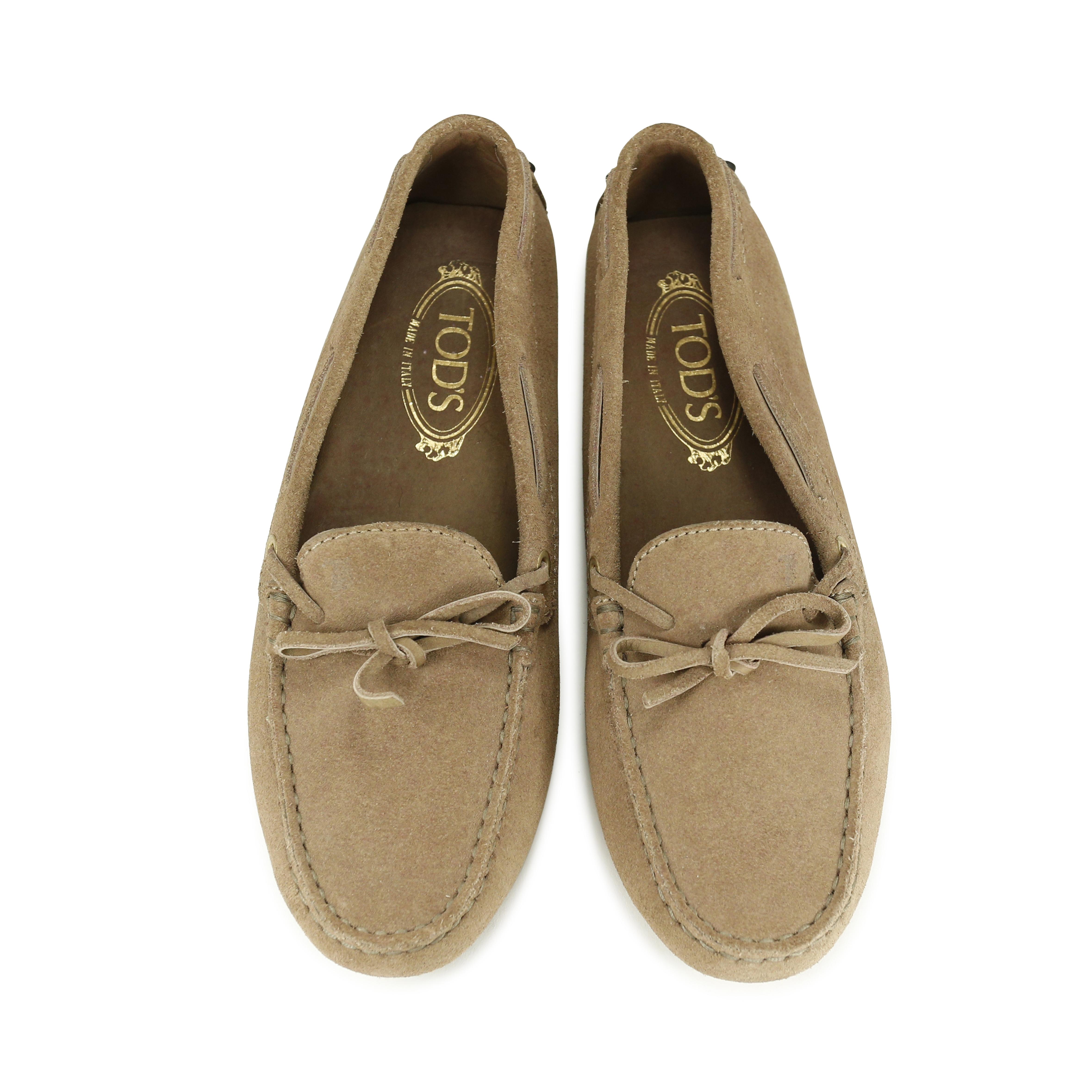 590fedaa7d Authentic pss Owned Suede Driving 156 Pre Shoe 00024 Tod s Gommino Or0Oq5