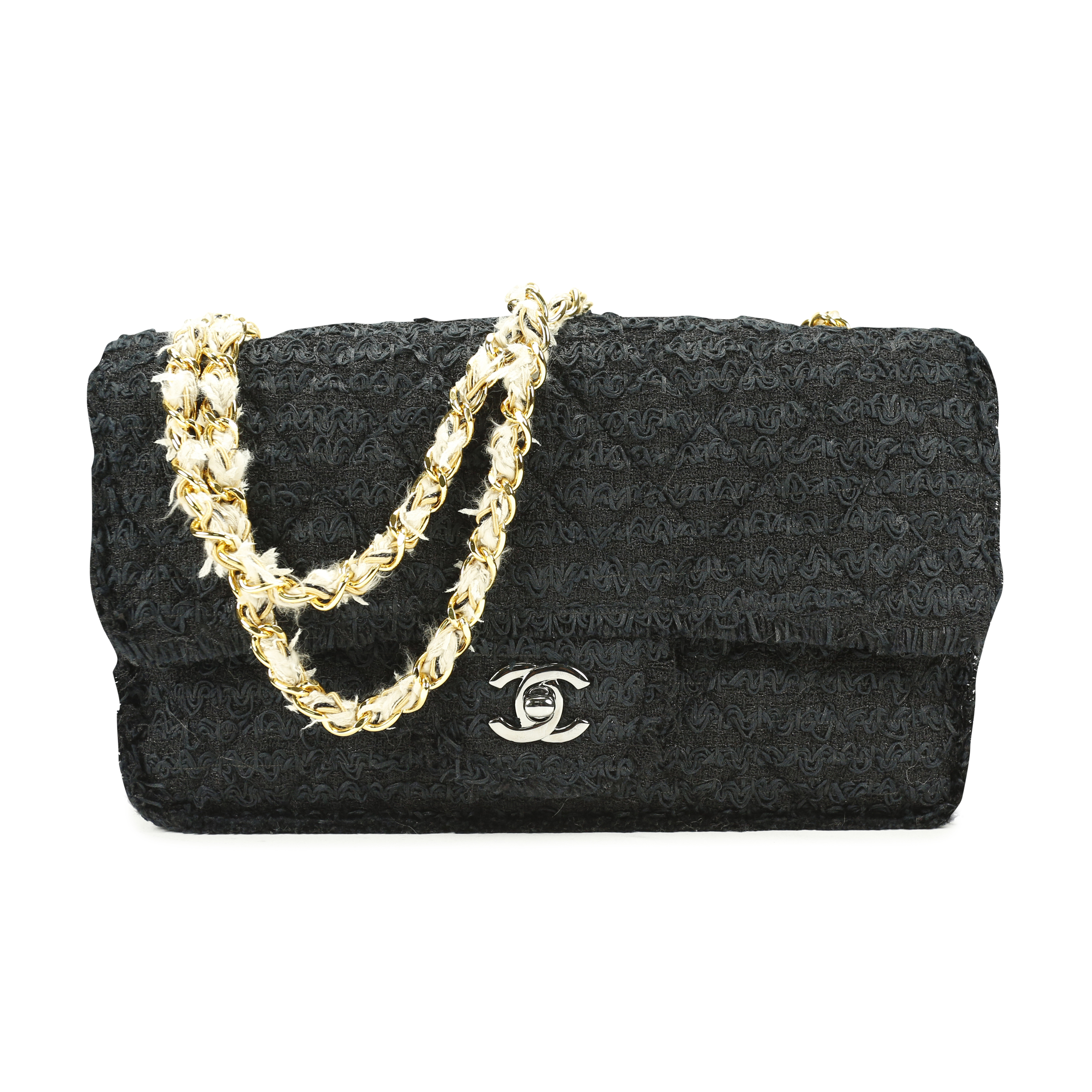 863a2b053be3 Authentic Second Hand Chanel Tweed Classic Flap Bag (PSS-136-00040) | THE  FIFTH COLLECTION