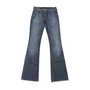 Authentic Second Hand Citizens of Humanity Low Waist Flare Jeans (PSS-158-00043) - Thumbnail 0