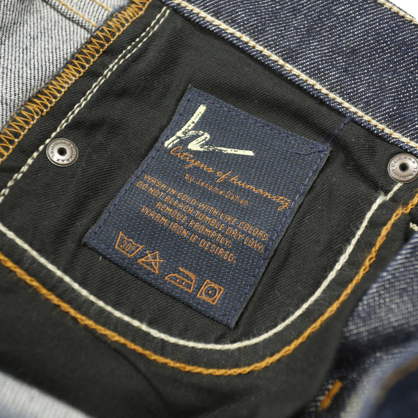 second hand citizens of humanity low waist boot cut jeans. Black Bedroom Furniture Sets. Home Design Ideas