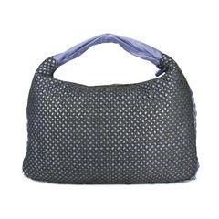Intrecciato Fabric Weave Hobo Bag