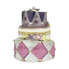 Judith leiber tiered cake minaudiere 2