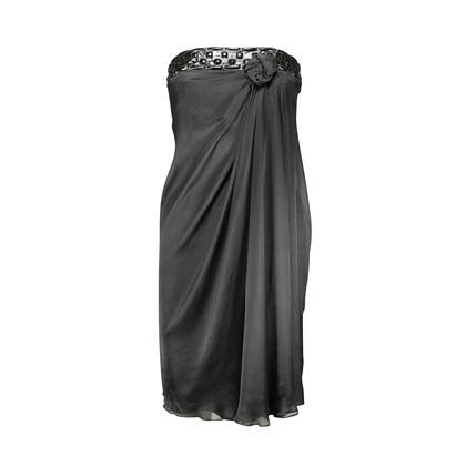 Authentic Second Hand Philosophy Di Alberta Ferretti Rosette Tube Dress (PSS-158-00006)
