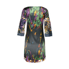 Elie tahari printed silk dress 2