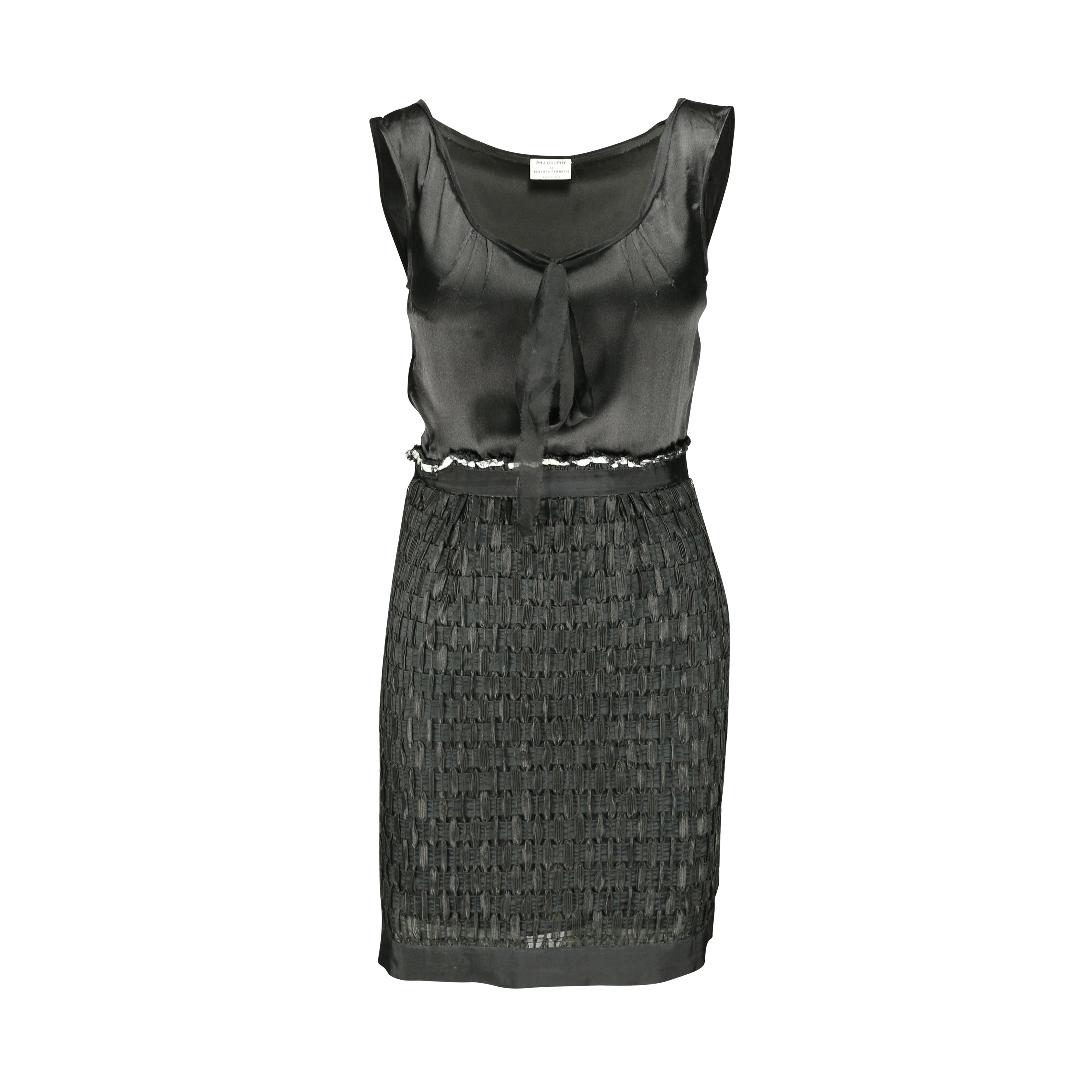 eee798dfe8f Authentic Second Hand Philosophy Di Alberta Ferretti Woven Dress  (PSS-158-00028) - THE FIFTH COLLECTION
