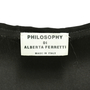 Authentic Second Hand Philosophy Di Alberta Ferretti Woven Dress (PSS-158-00028) - Thumbnail 2