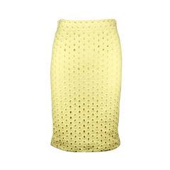 Circle Cut Out Skirt