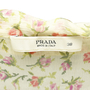Authentic Second Hand Prada Floral Tie Front Top (PSS-071-00099) - Thumbnail 2