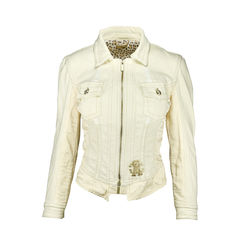 Bejewelled Denim Jacket