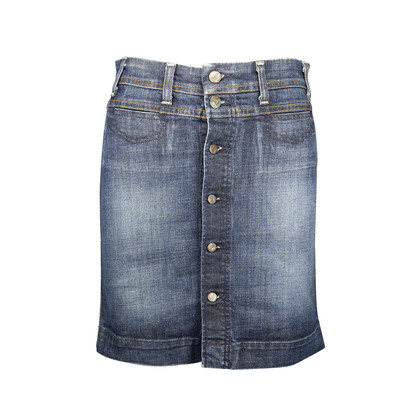Authentic Second Hand Citizens of Humanity Button Up Denim Skirt (PSS-071-00085)
